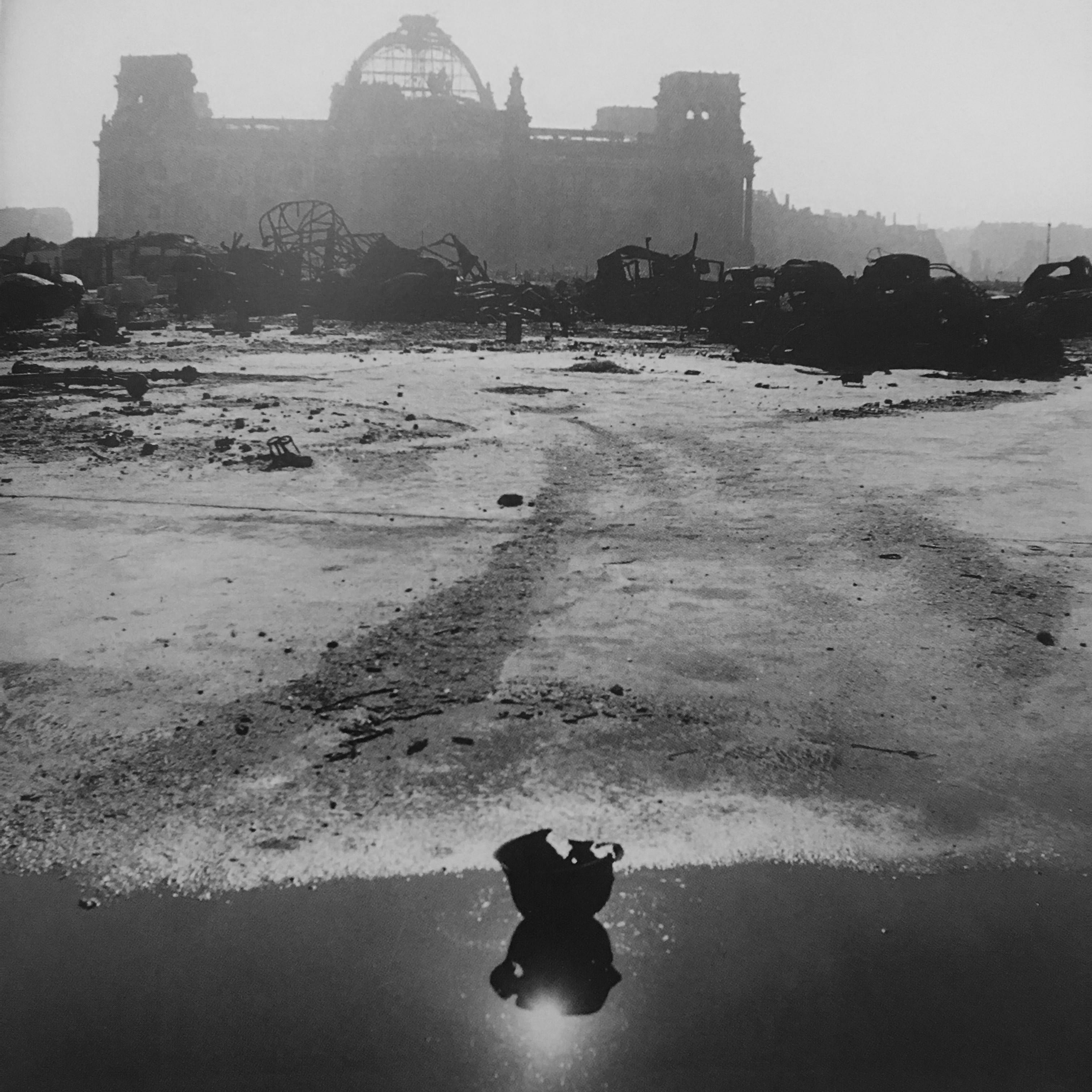 The Reichstag, Berlin, Germany, 1946.