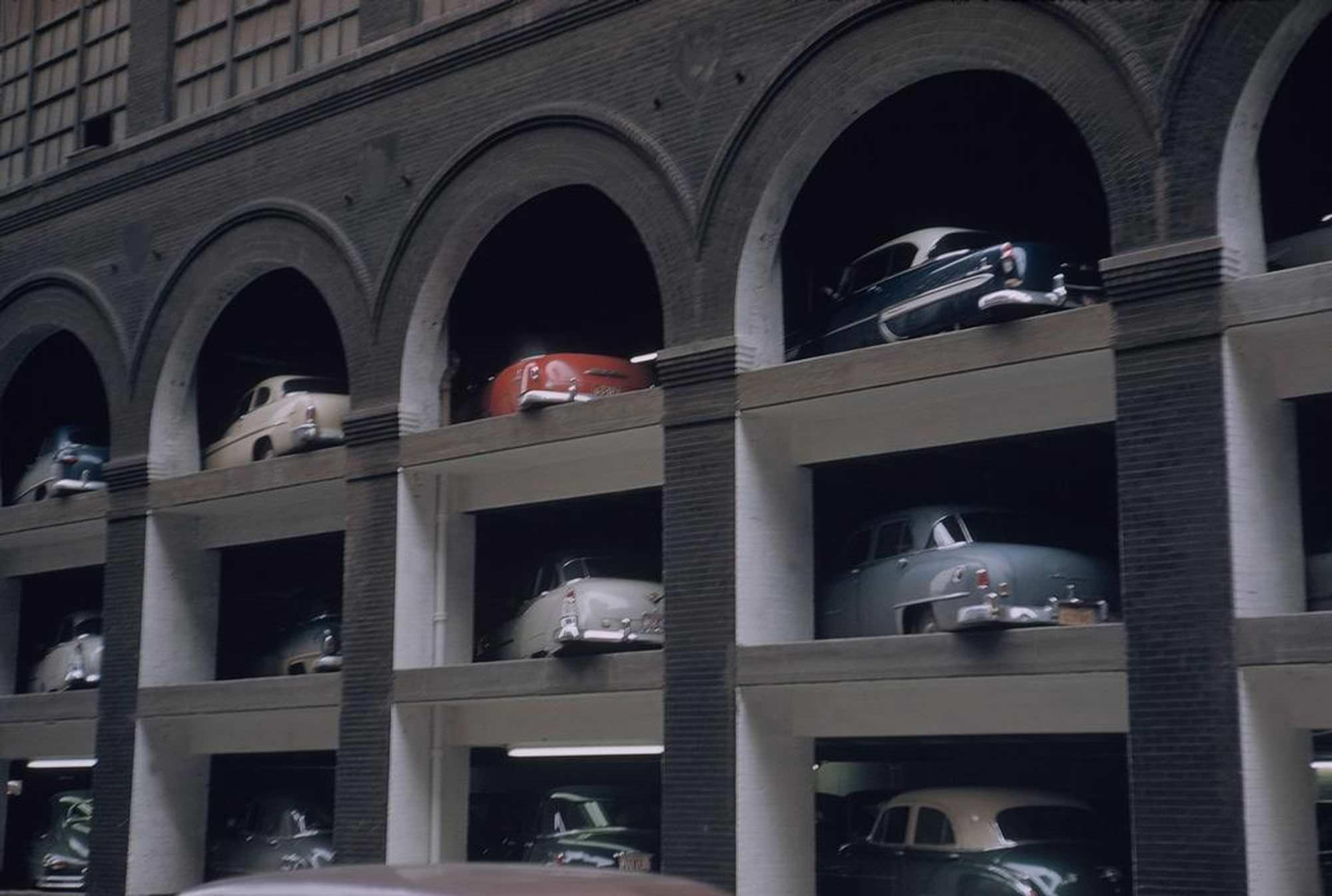 Parking Lot, New York City, USA, 1953.