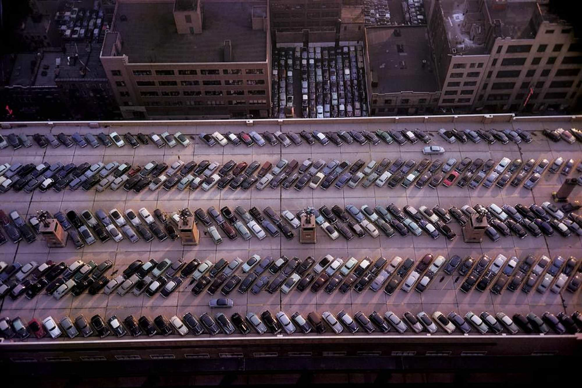 Parking Lots, New York City, USA, 1953.